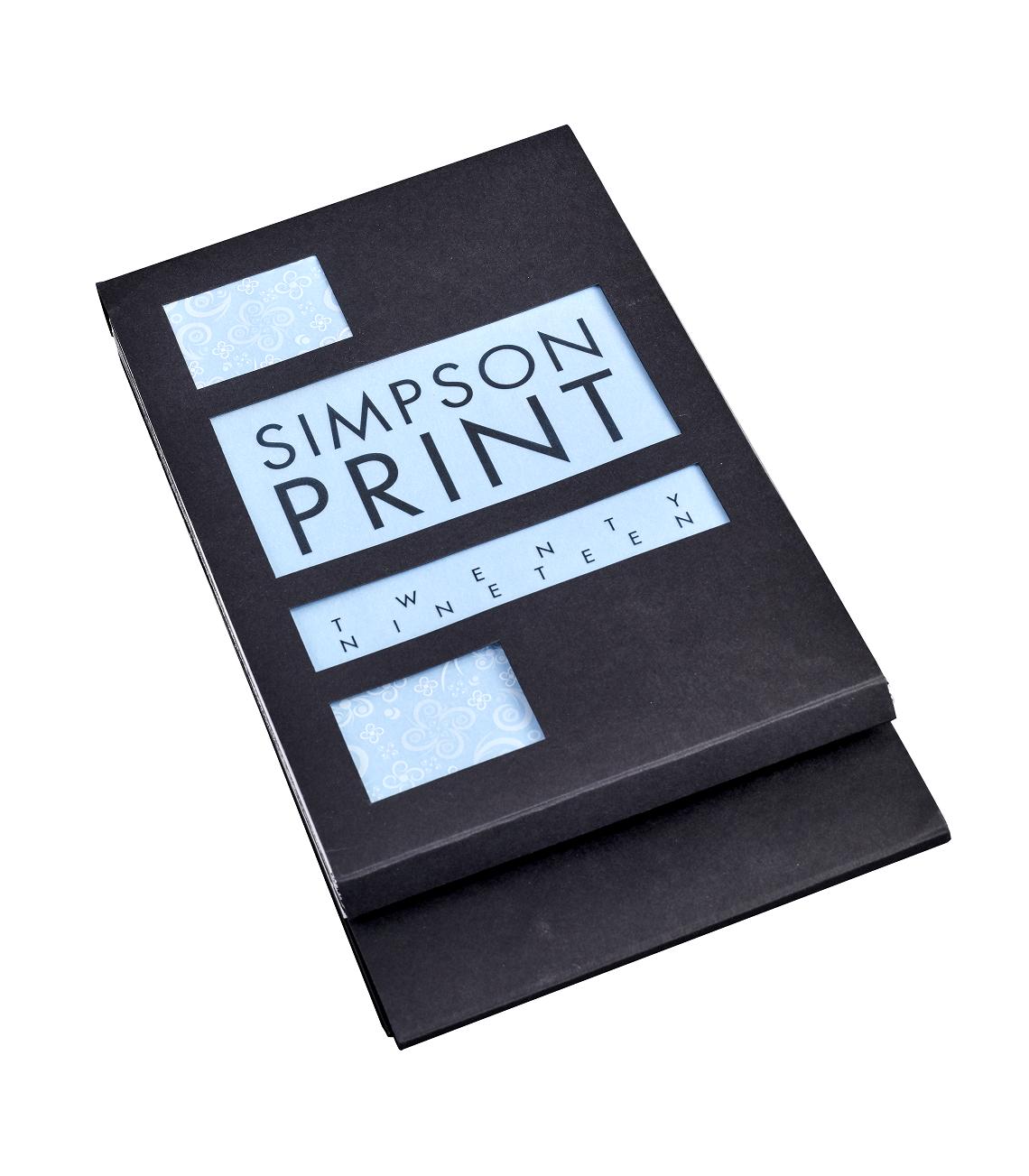 SIMPSON PRINT CALENDAR