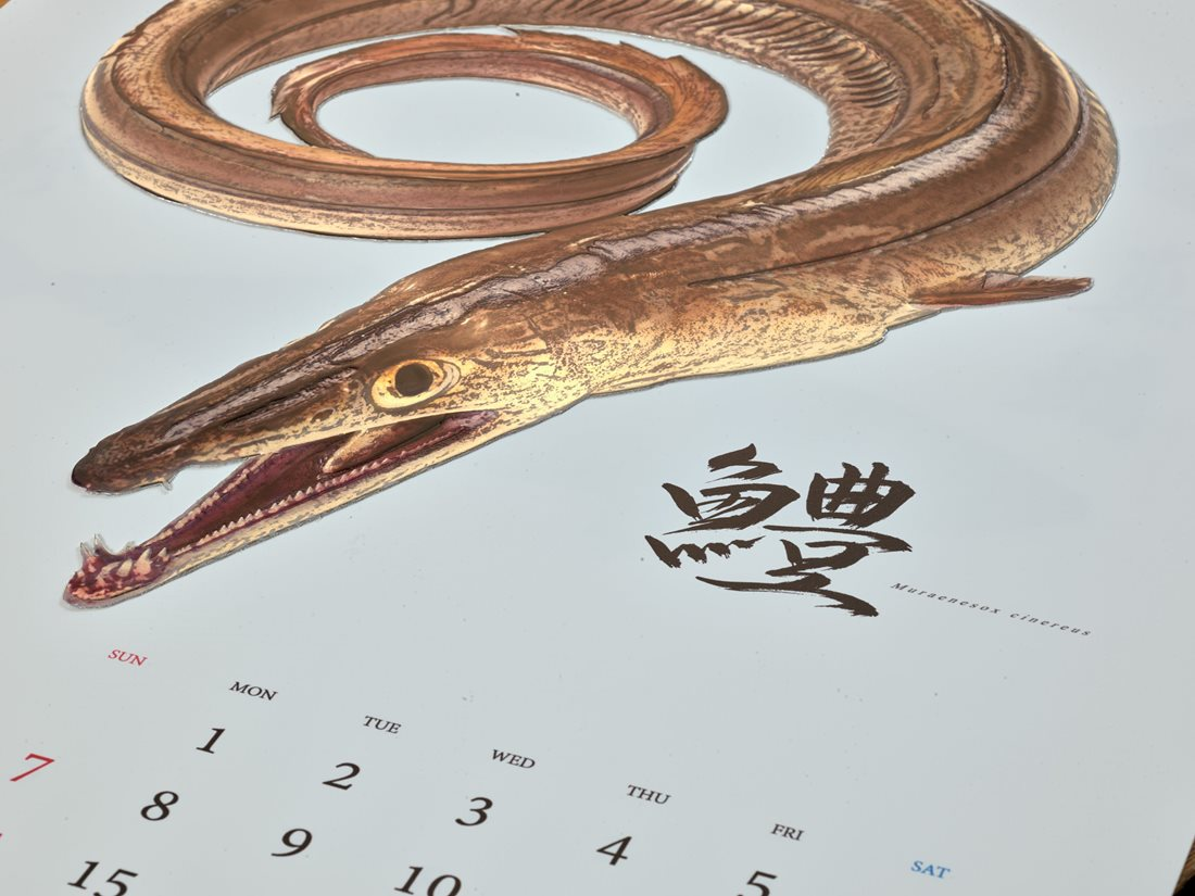 JAPANESE FISHES CALENDAR