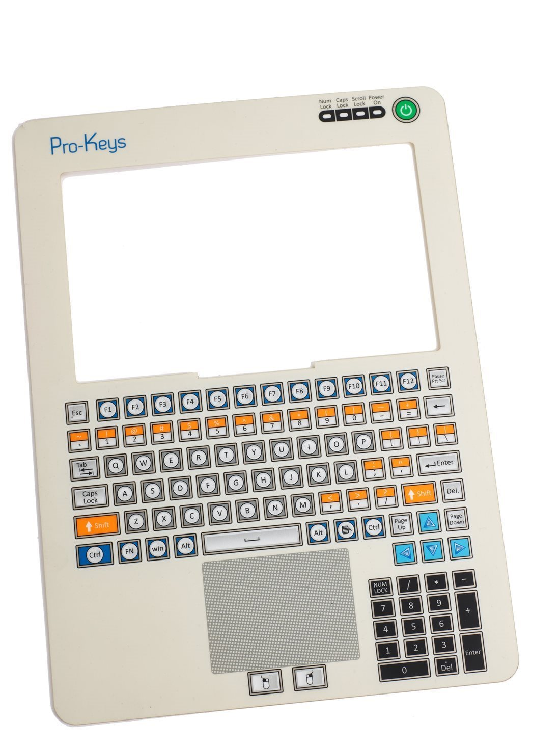 MEMBRANE SWITCH PRO KEYS 102