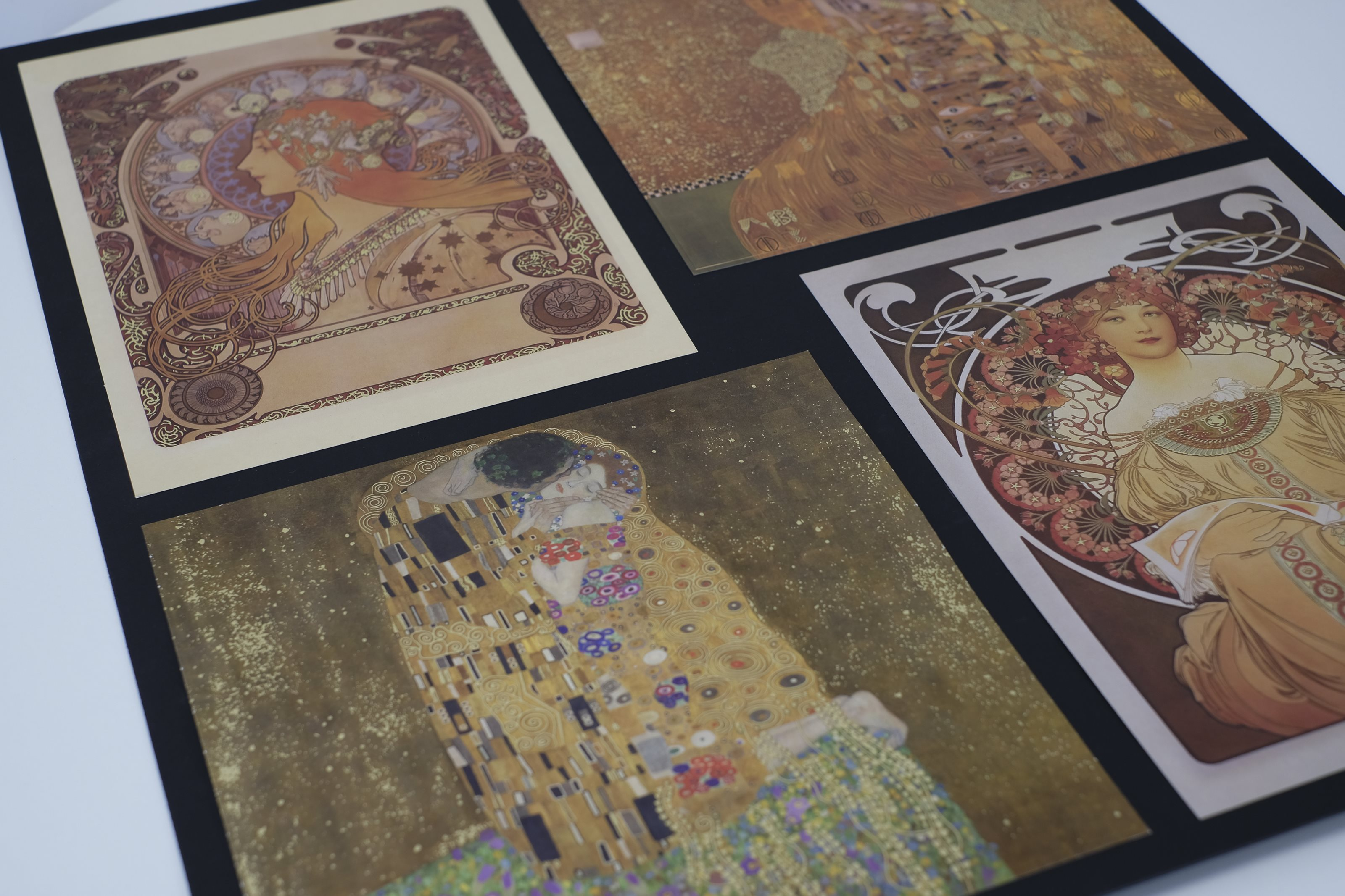 ALFONS MUCHA AND GUSTAV KLIMT